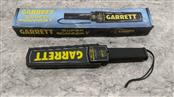 GARRETT SUPER SCANNER V HAND HELD SECURITY WAND METAL DETECTOR WITH ORIGINAL BOX